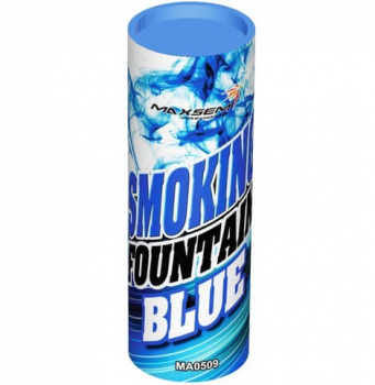Цветной дым SMOKING FOUNTAINE BLUE, 30 сек