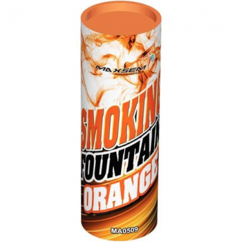 Цветной дым SMOKING FOUNTAINE ORANGE, 30 сек