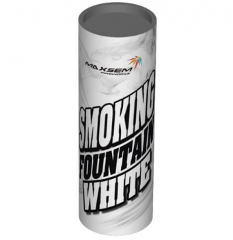 Цветной дым SMOKING FOUNTAINE  WHITE, 30 сек